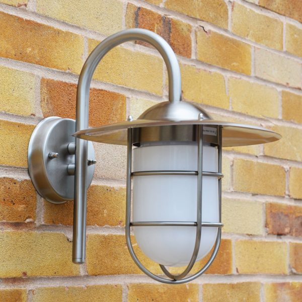Mariner Wall Light on Brick Wall