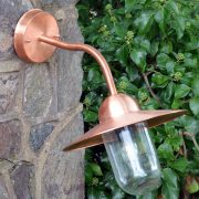 Swanage 45 - Copper Outdoor Wall Light