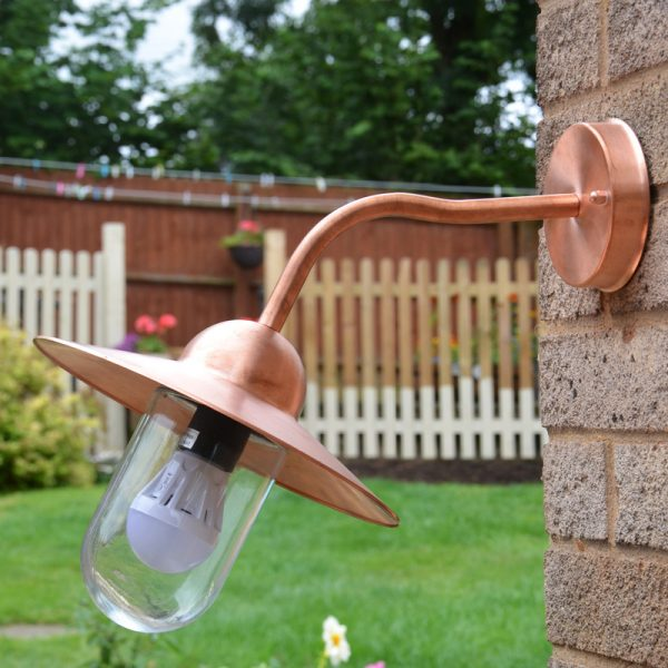 Natural Copper Wall Light