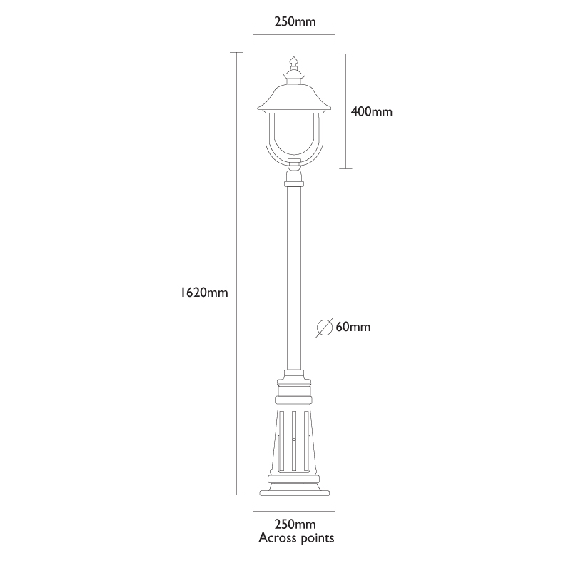 Adriana Lamp Post Traditional Lamp Post Light Outdoor