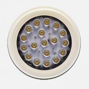 18w led par 38 bulb front