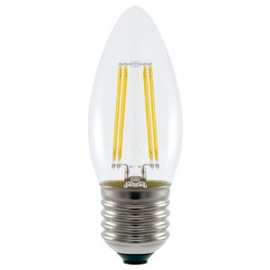 4.8w LED Filament Candle Bulb
