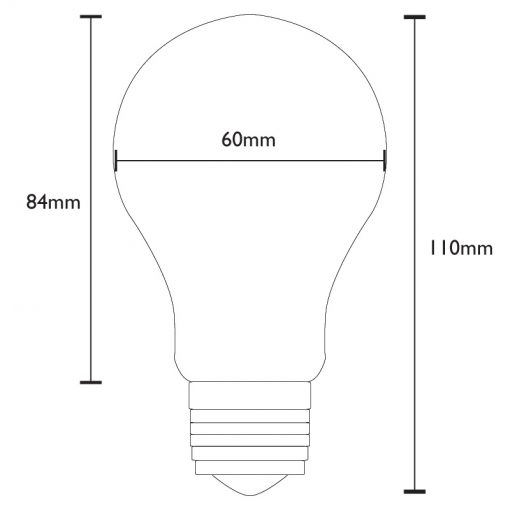 GLS Filament Dimensions