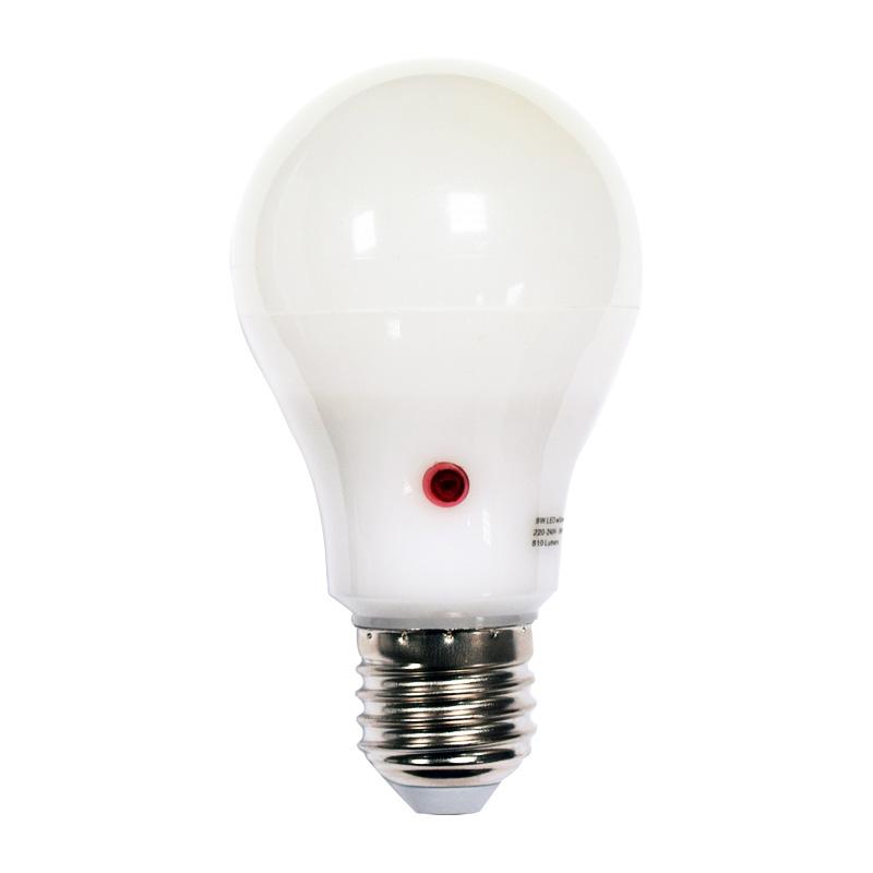 9w Led Gls Night Sensor Dusk To Dawn Light Bulb
