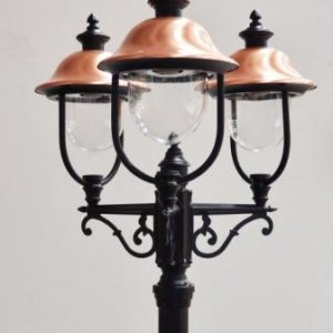 Adriana Triple Lamp post