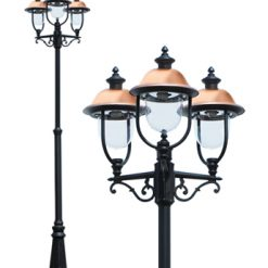 Adriana Triple Traditional Lamp Post Light