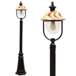 Adriana Lamp Post with Copper Shade
