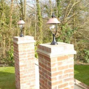 Adriana Traditional Pedestal Lantern