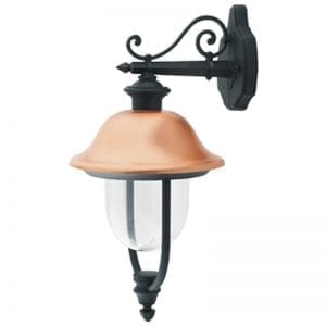 Adriana - Copper Outdoor Wall Lights