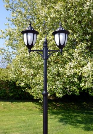 Amphora double lamp post traditional double lamp post light amphora double lamp post mozeypictures Gallery