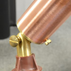 Copper Spotlight Fastener