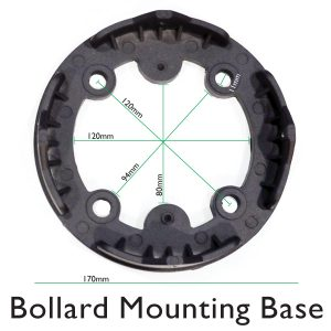 Bollard Internal Mounting Base