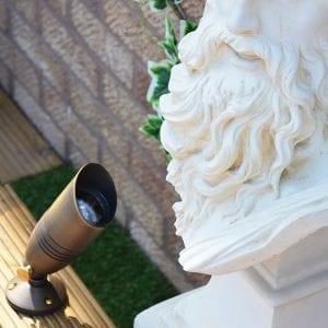 Director Brass Spotlight - Statue