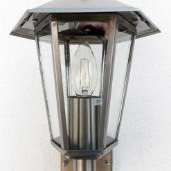 Contesa Photocell Wall Light with LED bulb