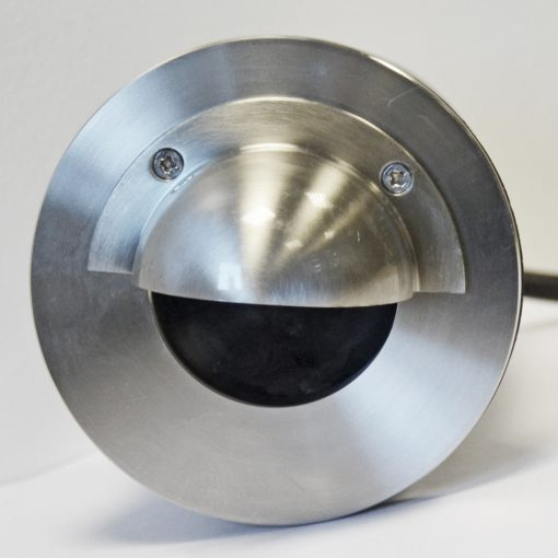 Stainless Steel Recessed Wall Light