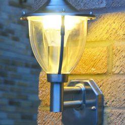 Centurian Dusk to Dawn wall light with GLS LED bulb
