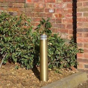 Solid Brass Bollard Light