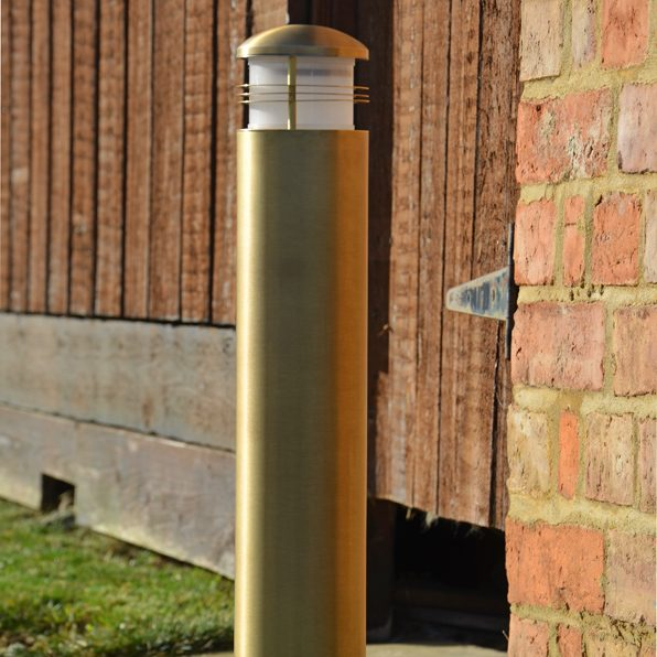 Brass Post Light