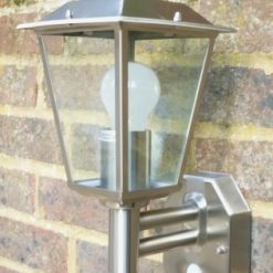 Classica Stainless Steel Security Light (PIR)