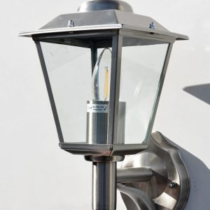 Stellus CLASSICA 320 WL - Stainless Steel Outdoor Wall Lantern