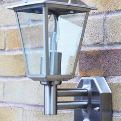 Classica PIR Wall Light with LED Bulb