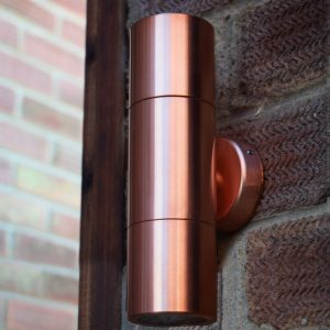 Hilospot - Copper Outdoor Spotlight