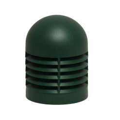 Domed Bollard Head- Fortress Head GARDEN GREEN