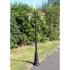 Copper Lantern Lamp Post
