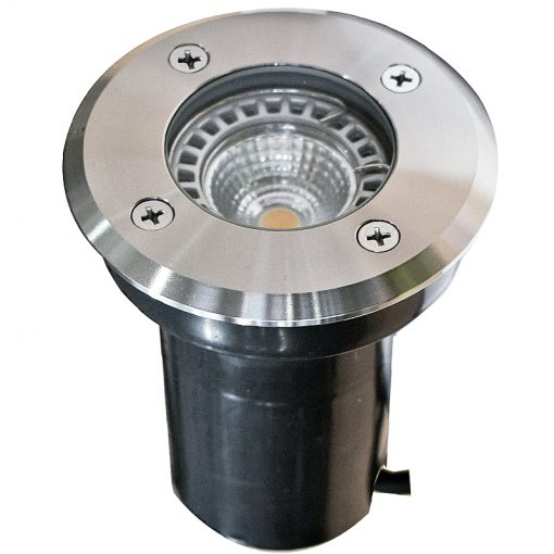 stainless steel decking light Decimax 100 - 12v 100mm Recessed Light - 304 Stainless Steel - 3.0m Cable