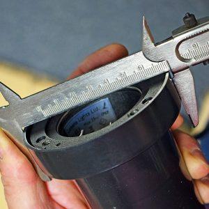 Decimax & Cubik Recessed Light - Installation Hole Size = 87mm
