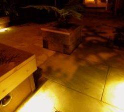 12v step light illuminated