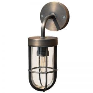 Fisherman - Brass Outdoor Wall Light - Solid Brass (240v)
