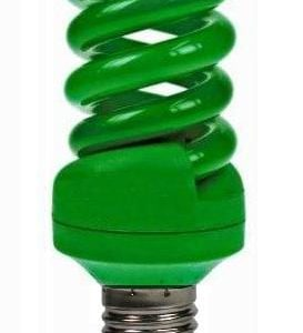 Coloured Helix Light Bulb ES/E27 18W