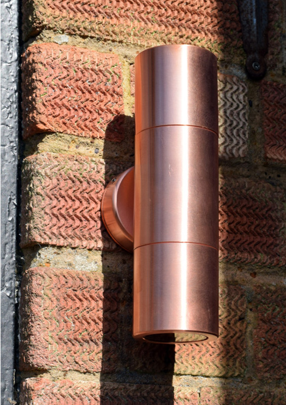 Copper Hilospot Outside