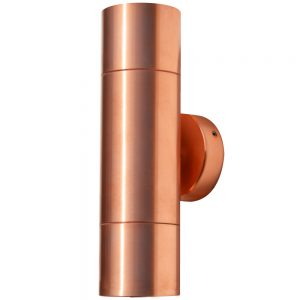 Hilospot - MR16 Outdoor Twin Spotlight Copper Double Spotlight