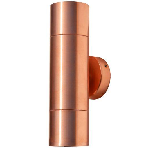 Hilospot - MR16 Outdoor Twin Spotlight Copper Double Spotlight