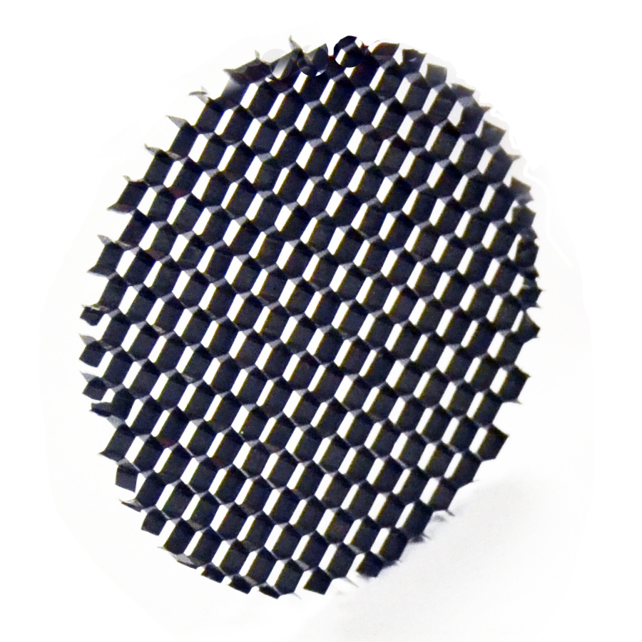 Louvred Honeycomb Filter For Gu10 Mr16 Spotlights 50mm