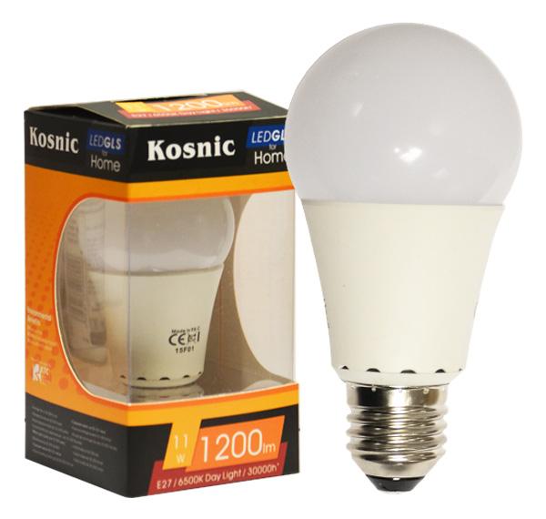 240v kosnic led gls bulb es e27 daylight white 11w lumena lights. Black Bedroom Furniture Sets. Home Design Ideas