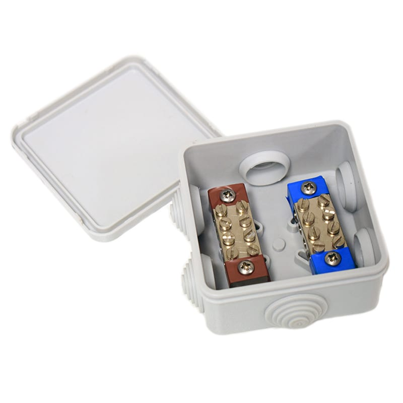 LEZL4-White Connection Box 12v