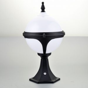 Mystic - Pedestal Light with Photocell