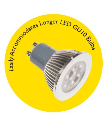 Longer GU10 Lamp