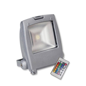Luxora Pro Top Clip RGB LED Colour Changing Floodlight - 10W