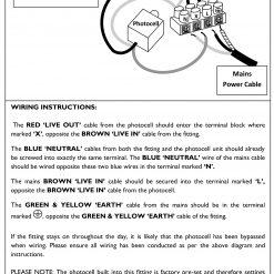 Photocell Dusk to Dawn Light Wiring Instructions - Lumena