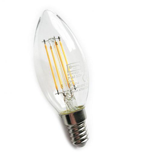 SES Filament LED Candle - Crompton