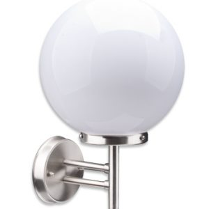 Stellus SPHERICA 250 - 250mm Globe Stainless Steel Wall Light