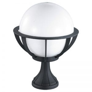 Saturn Globe Pedestal Light