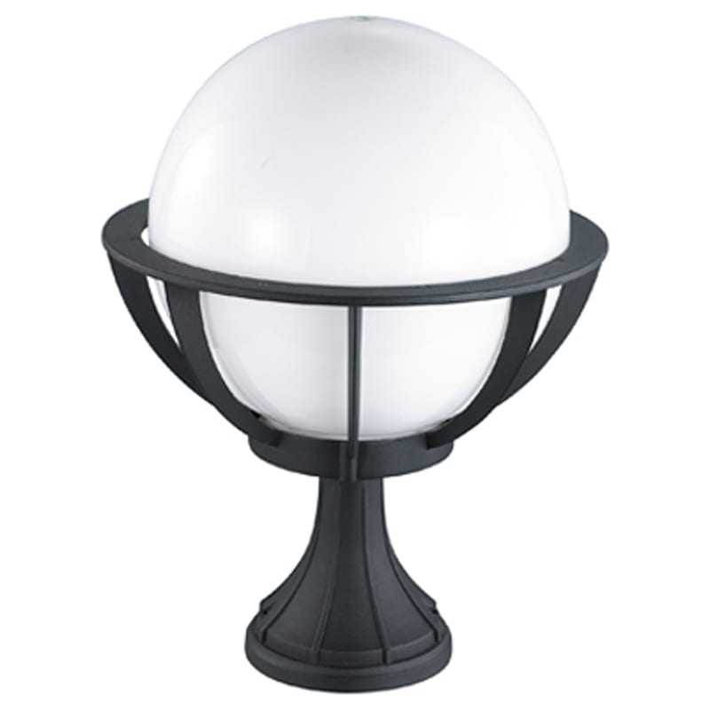 Parish Mini Pedestal Lantern: Decorative Globe Pedestal Light