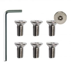 M5 Pin Hex Security Screw Kit - 6 pack