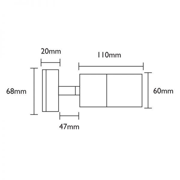 Smartspot 240v Spotlight Dimensions