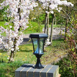 Solamon Solar Pedestal Lights